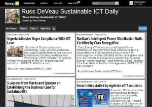 Russ DeVeau Sustainable ICT Daily