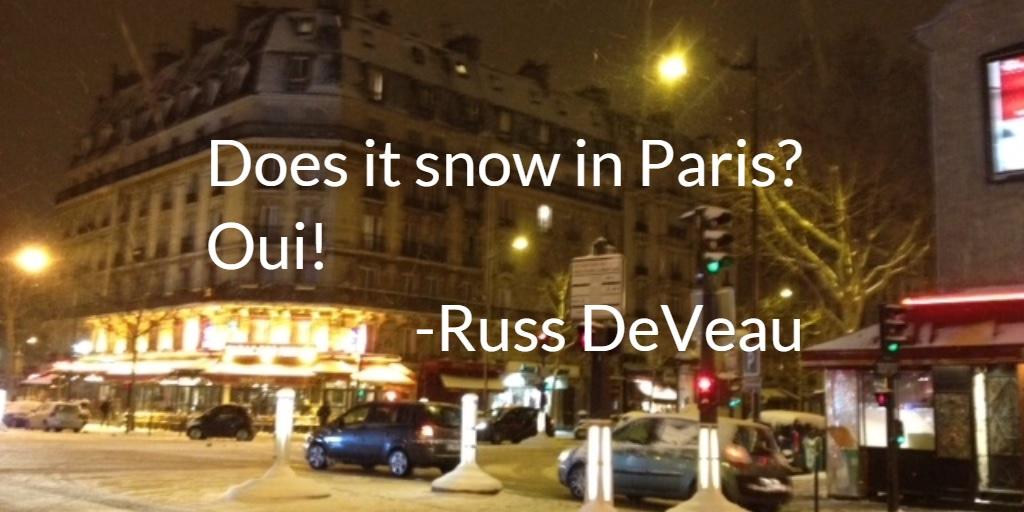 Russ DeVeau Paris