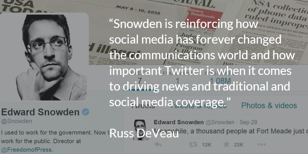 Snowden Russ DeVeau blog