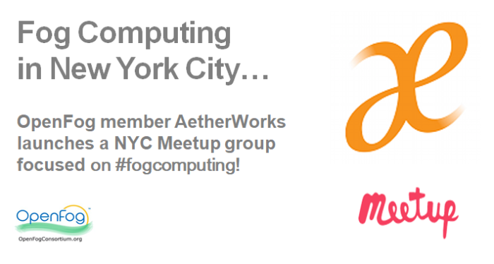 Russ Deveau in New York City Fog Computing Meetup Russell DeVeau