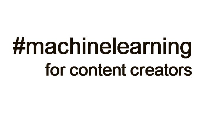 russ deveau machine learning for content creators russell deveau