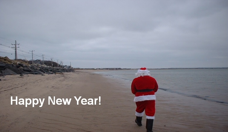 Happy 2020 santa and russ deveu in provincetown russell deveau blog